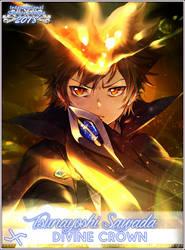 Tsunayoshi Sawada ISML 2018 Divine Crown Poster by epeldoll