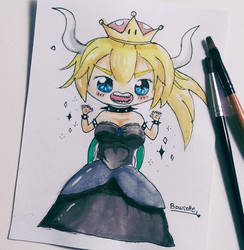 Bowsette Chibi by epeldoll