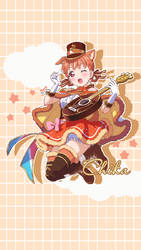 Chika Phone wallpaper by epeldoll