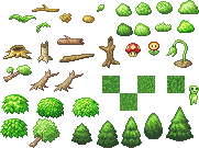 Pixel-Wood-and-Trees