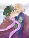 First kiss in Niffleheim