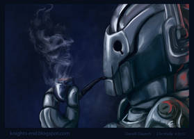 Cyberman Contemplates by Knights-End