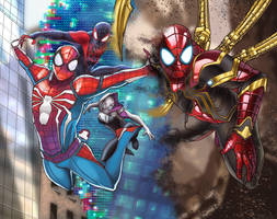 Into the Spider Verse by felle2thou