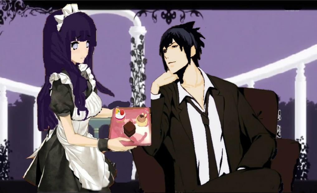 Fanart, Naruto,SasuHina, Crazy and Kawaii Desu, Talyta Leite., Anime,