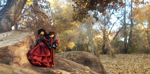 fairies in the fall