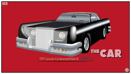 Film Car Project #3 - The Car