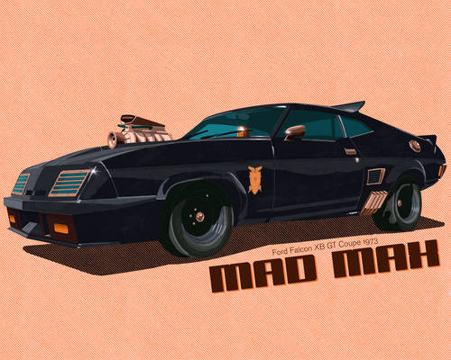 Mad Max Ford Falcon XB GT Coupe 1973