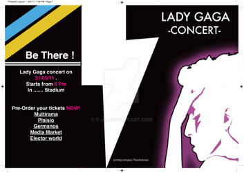 Lady Gaga 3paged Flyer Part1