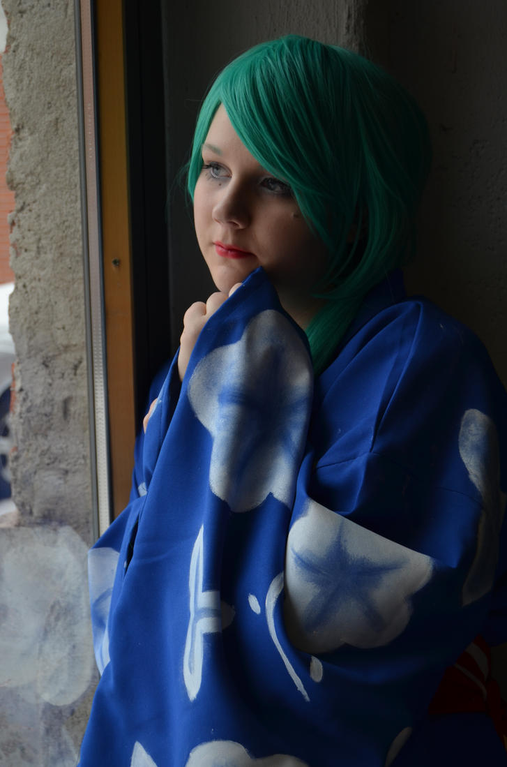 Watching out of window (Higurashi Mion Cosplay) by tutti-chan