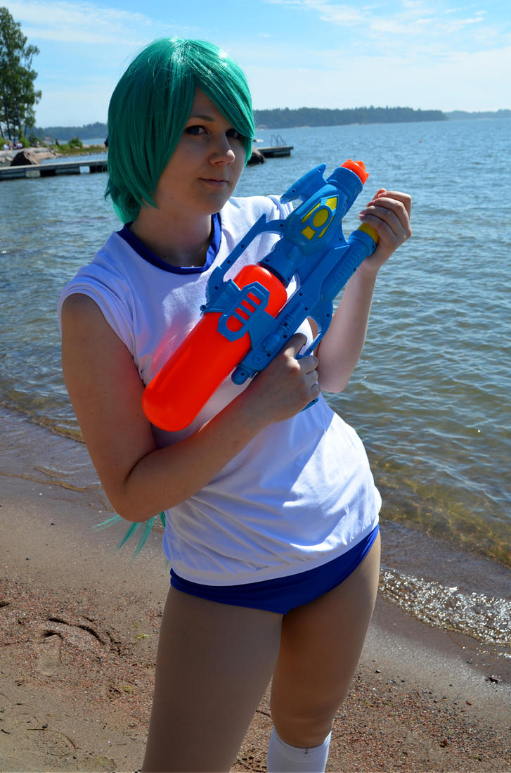 Get ready! (Higurashi cosplay) by tutti-chan
