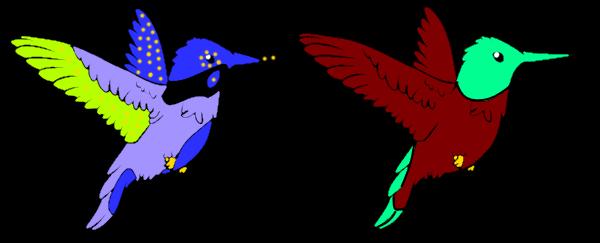 Humming Bird Adopts (adopts) by Amethyst-Wyrm