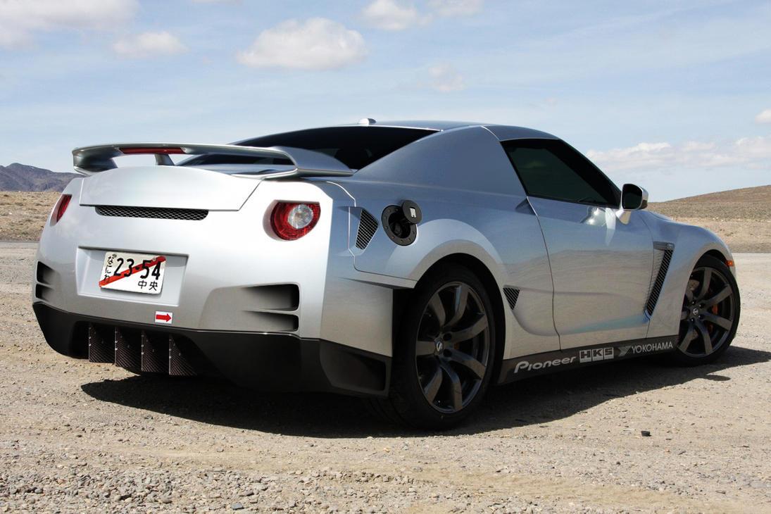 Nissan Gt R Virtual Tuning By Klimentp On Deviantart