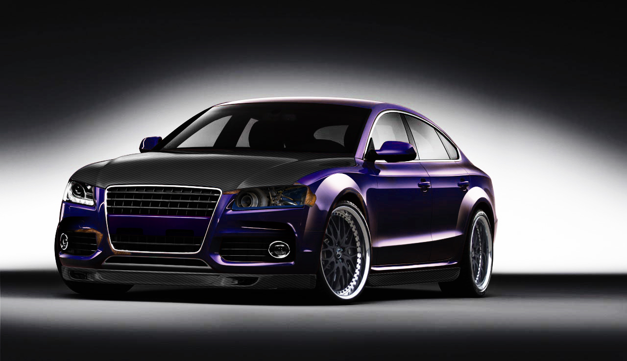 Audi A5 Virtual Tuning By Klimentp On Deviantart