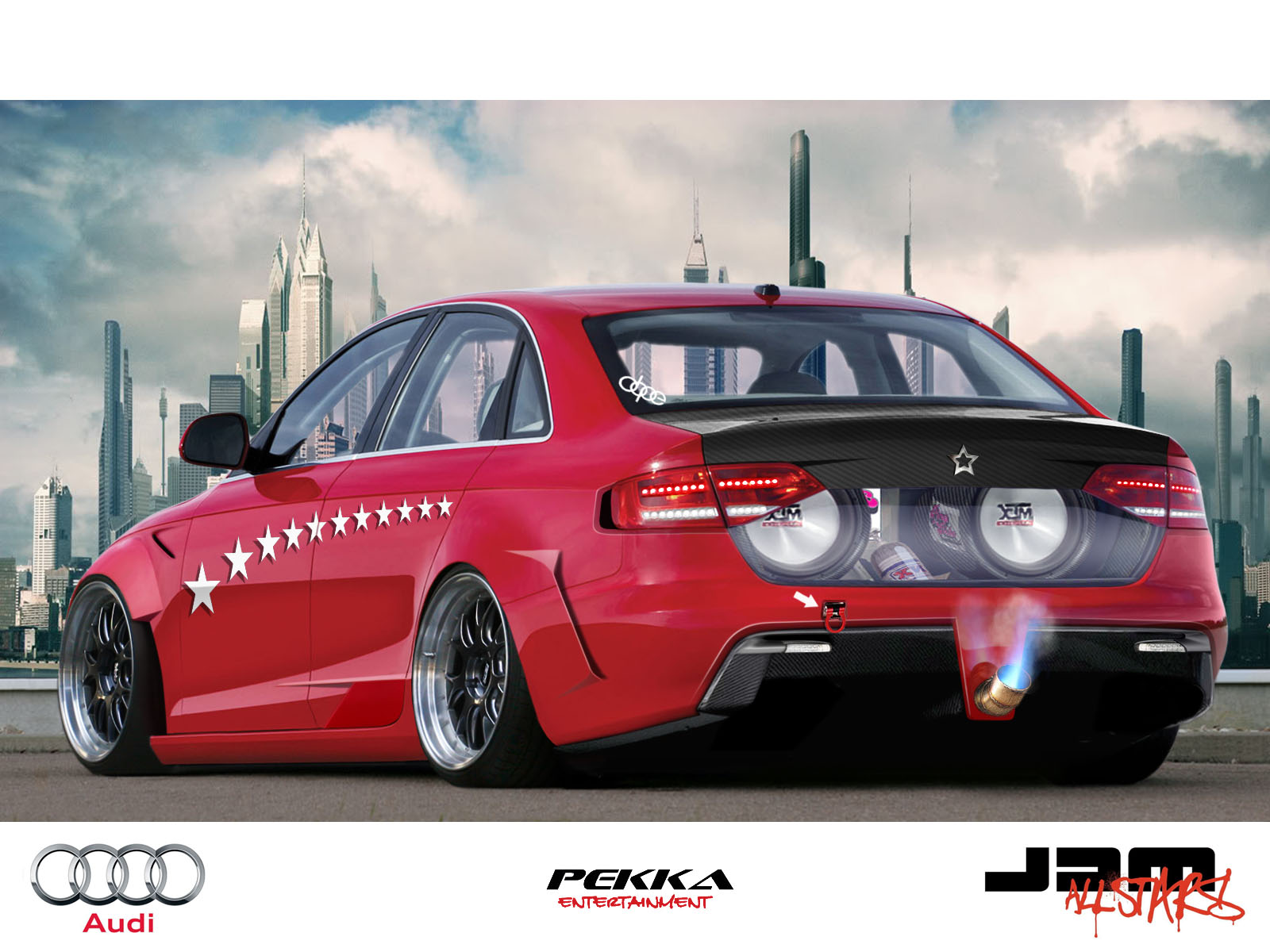 Audi A4 Virtual Tuning By Klimentp On Deviantart