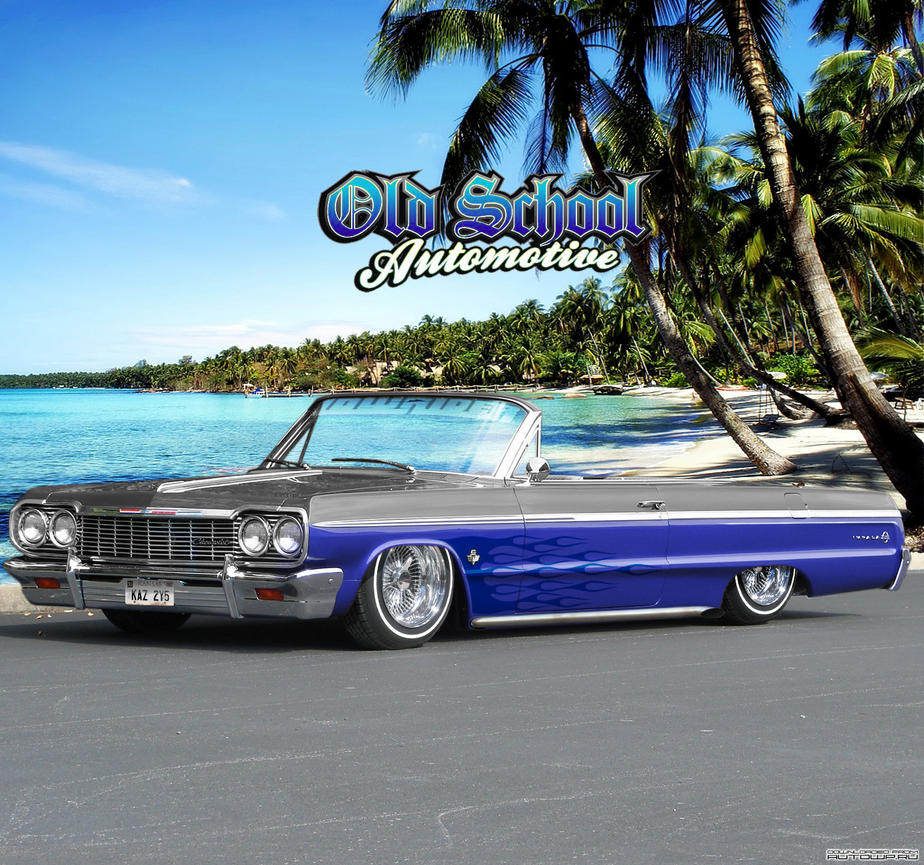 Chevy Impala LowRider Vt By Klimentp
