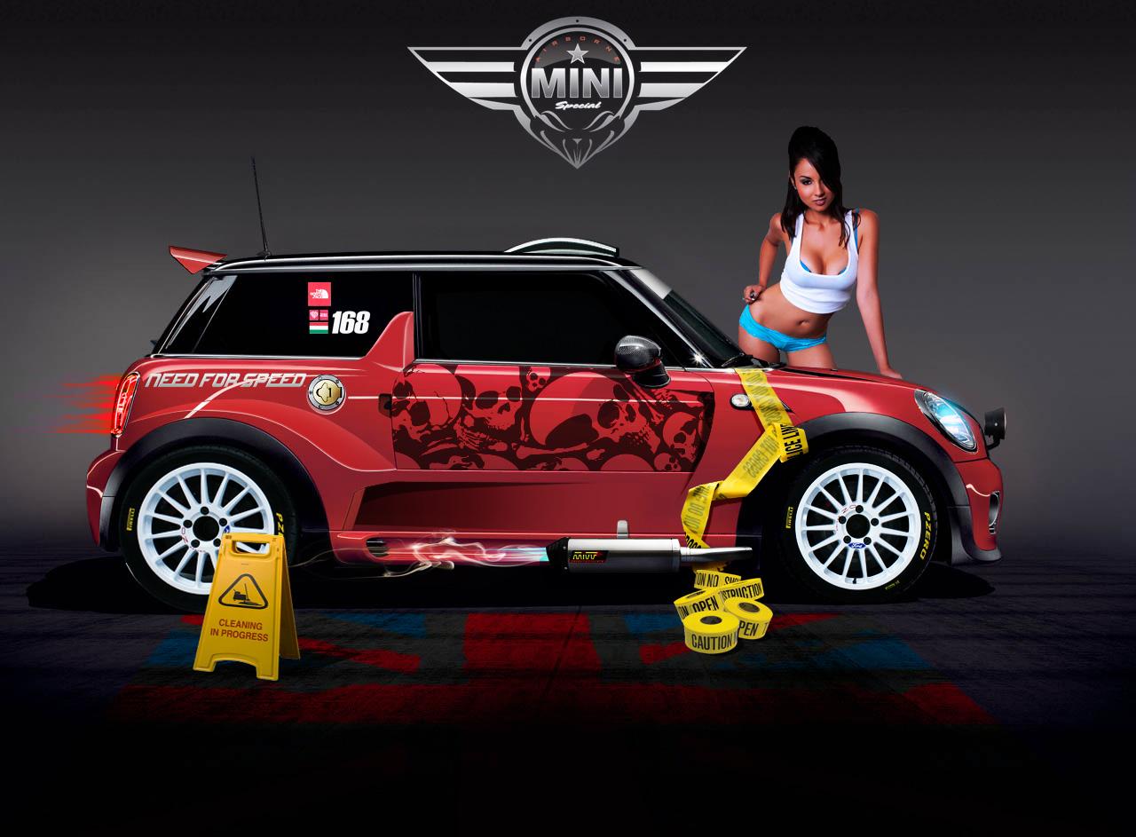 Mini Cooper Race Vt By Klimentp On DeviantArt