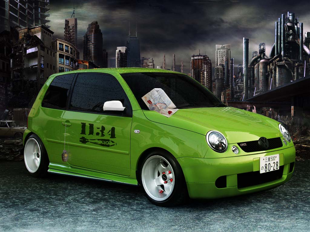 Vw Lupo Army Virtual Tuning By Klimentp On Deviantart
