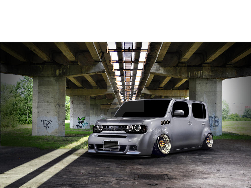 nissan cube vt by klimentp on deviantart. Black Bedroom Furniture Sets. Home Design Ideas