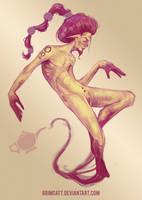 Genie by grimcatt