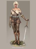 Ciri Witcher 3 by grimcatt