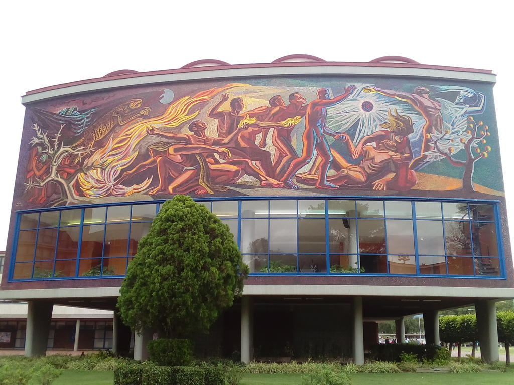 Alma Mater Ciudad Universitaria by ryubluedragon