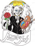 Angel of Art Badge