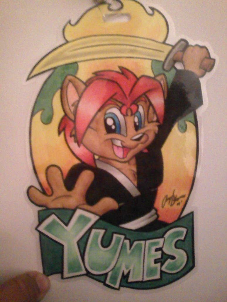 Yumes Badge by SketchDalmatian