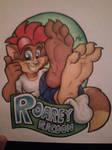 Roarey Paw Badge