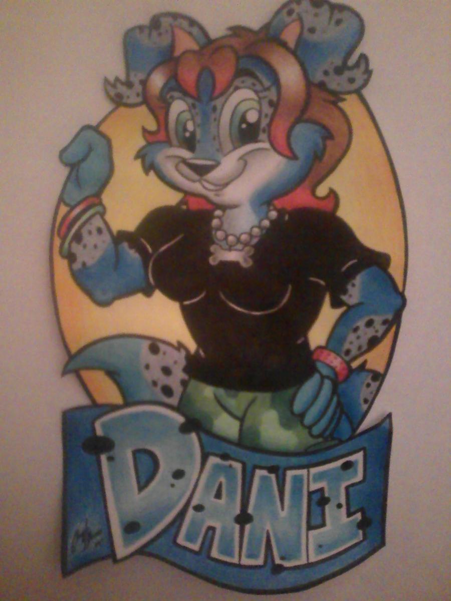 Risha's Dani Badge