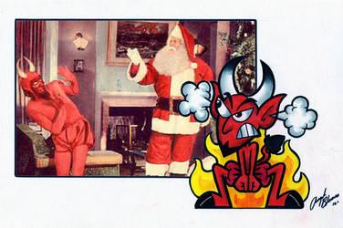 Santa Vs. Pitch