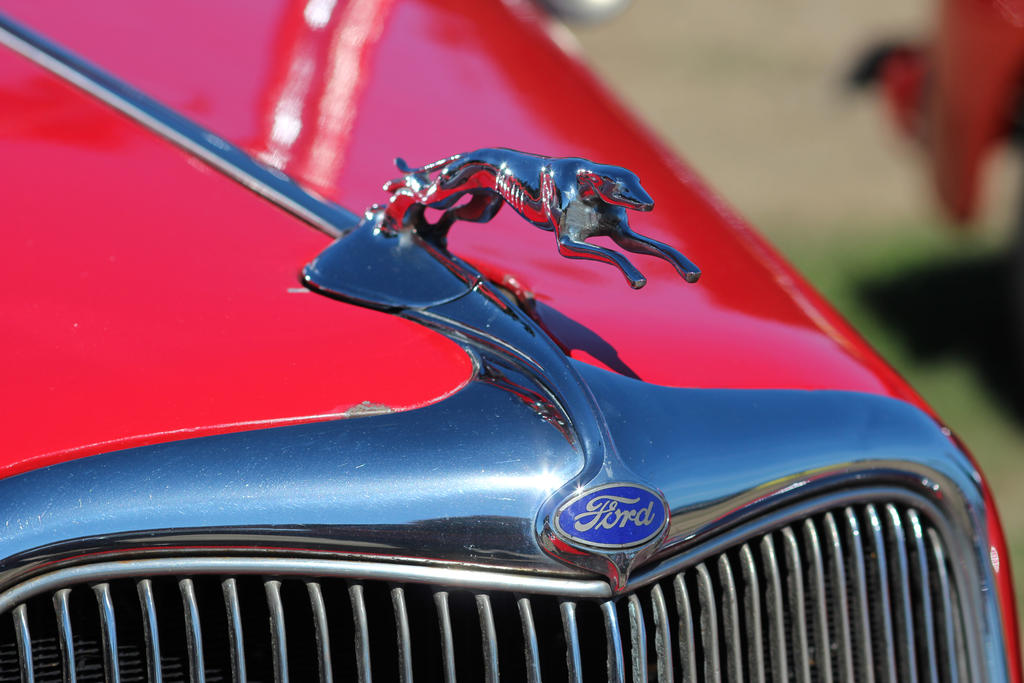 Classic Ford Hood Detail by FrancesColt