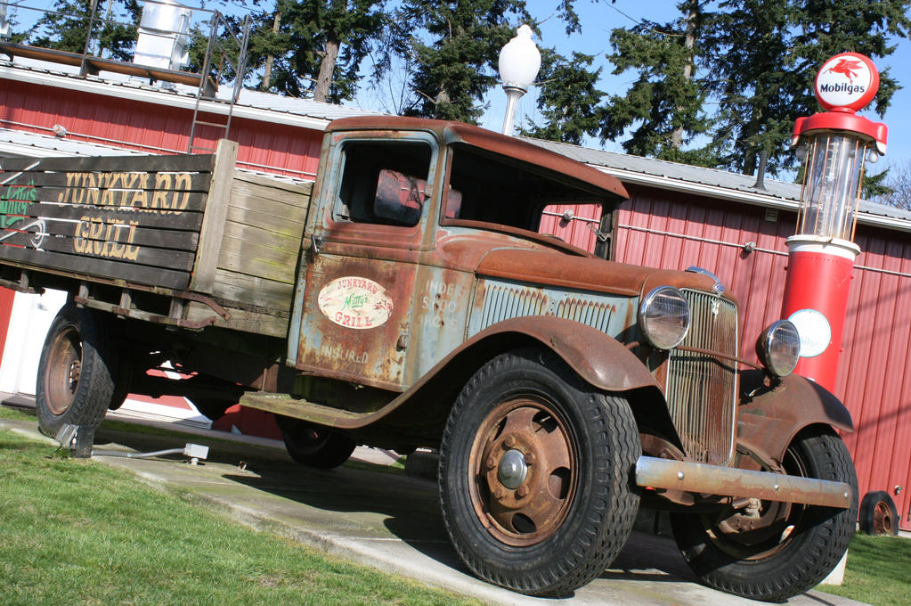 Vintage Ford Truck by FrancesColt