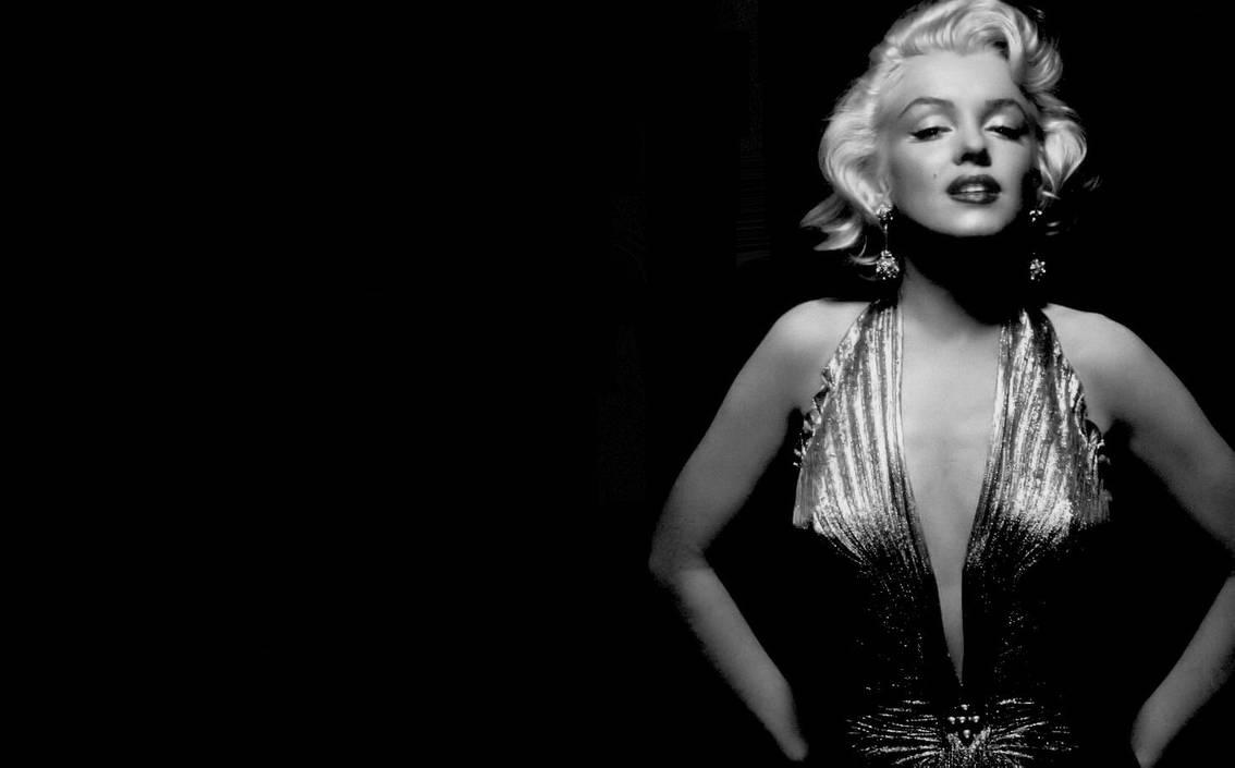 Marilyn Monroe Wallpaper 2 by Catsya on