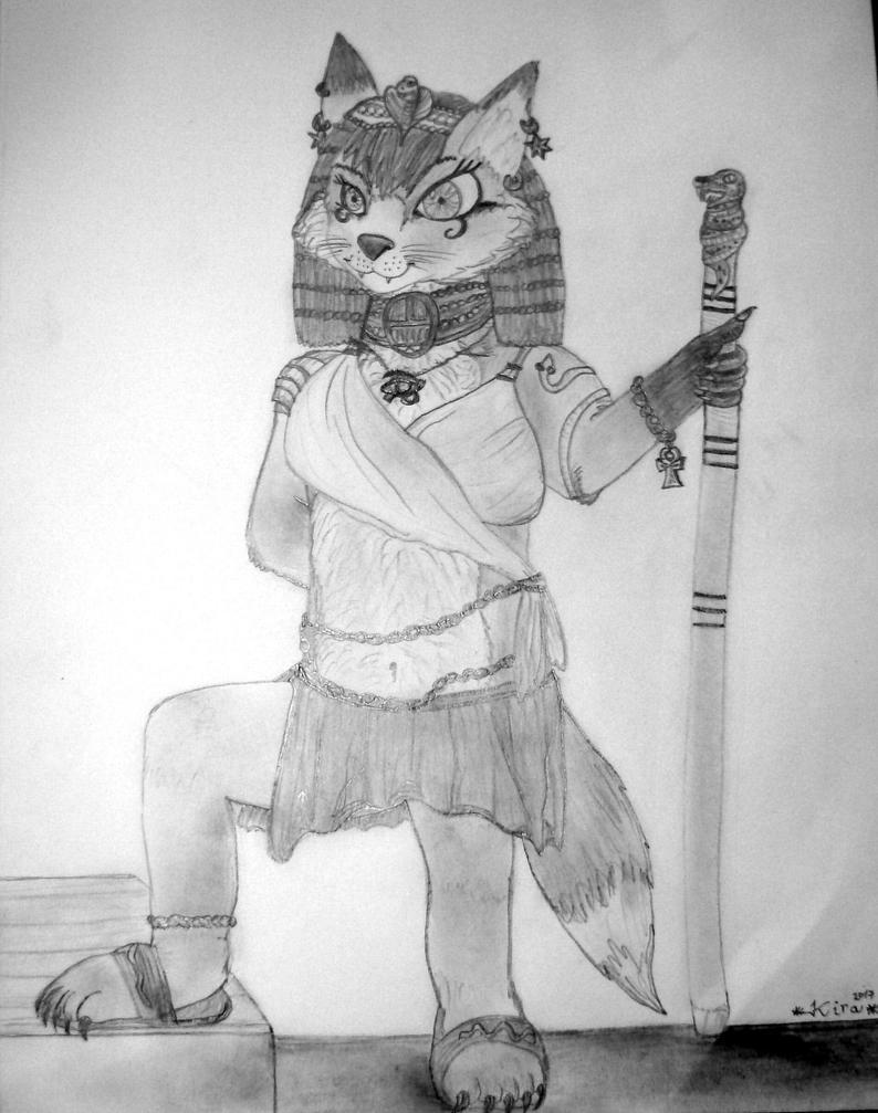 Kira - egypt by LadyKira999