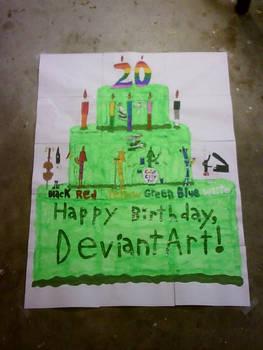 DeviantArt's 20th Birthday Gift