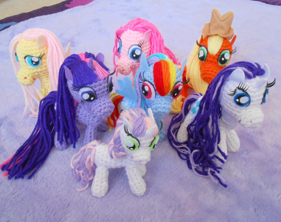 Amigurumi My Little Pony Patron : My Little Pony ava and garrett Pinterest