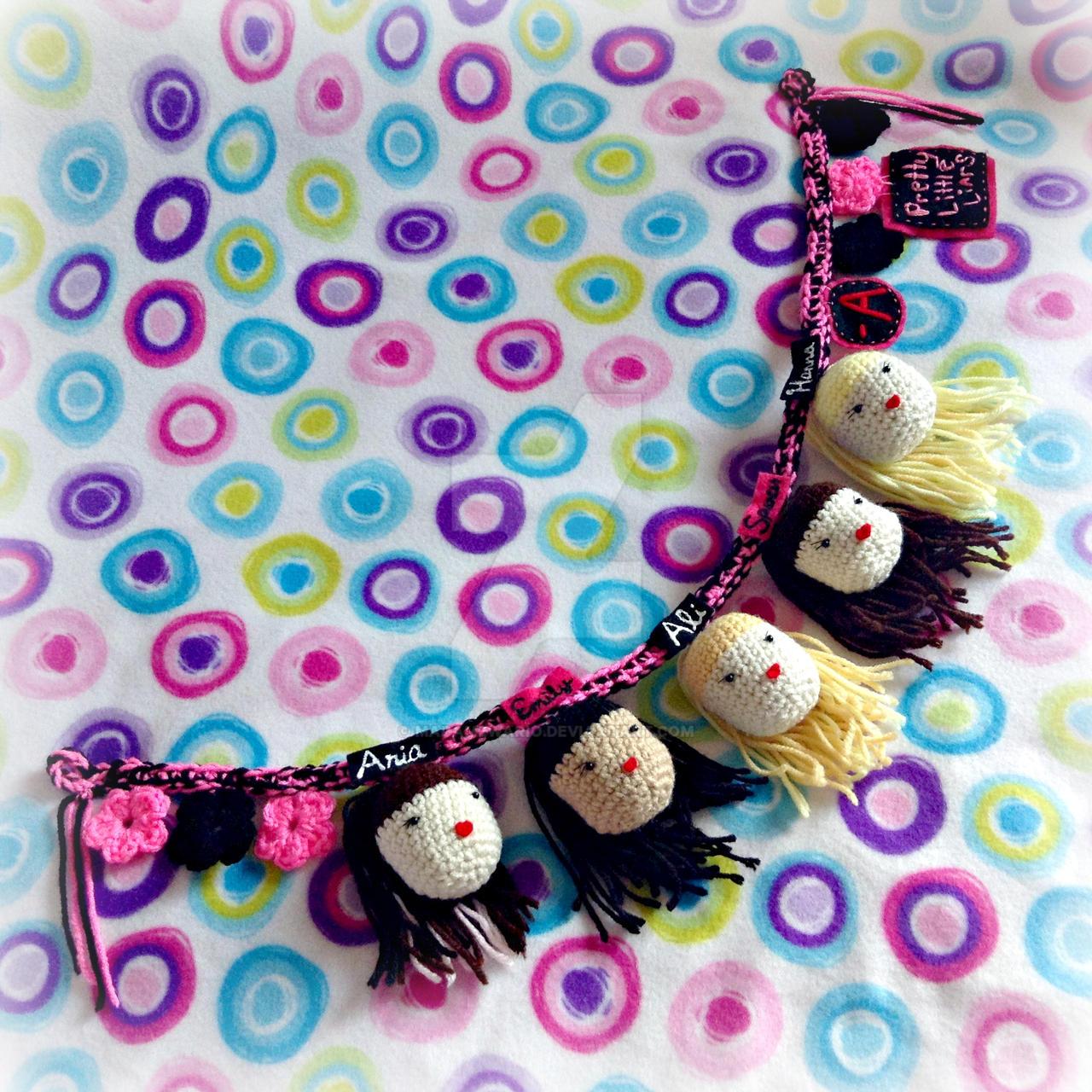 Pretty Little Liars Crochet Banner by MadameWario