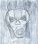 Charooku' from 'Drafonia'  -original rough sketch by anthonycrowley