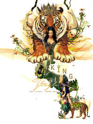 KING OF THE JUNGLE = )))