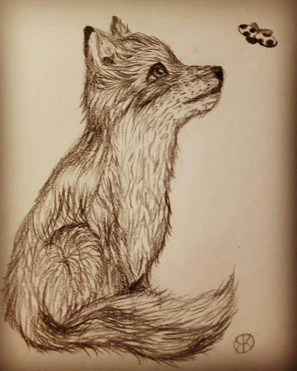 little fox by trimiyn