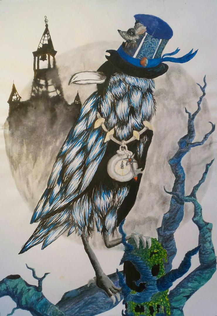 Raven by trimiyn