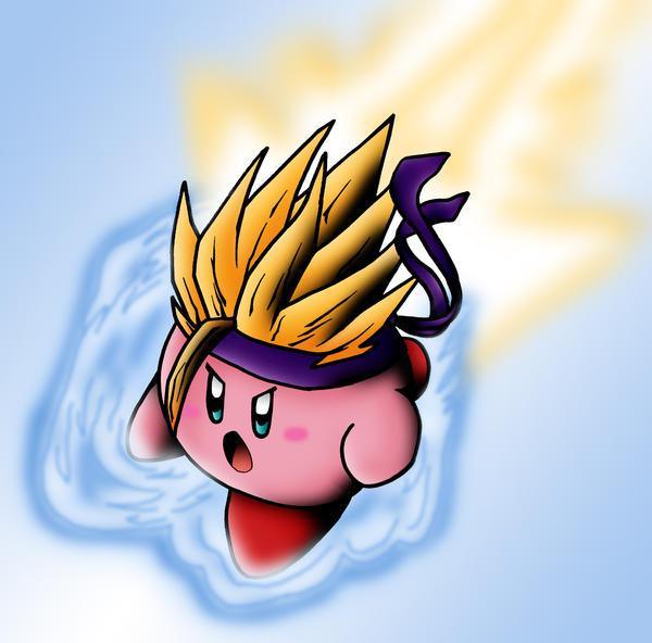 Z Fighter Kirby by SiegKingKirby