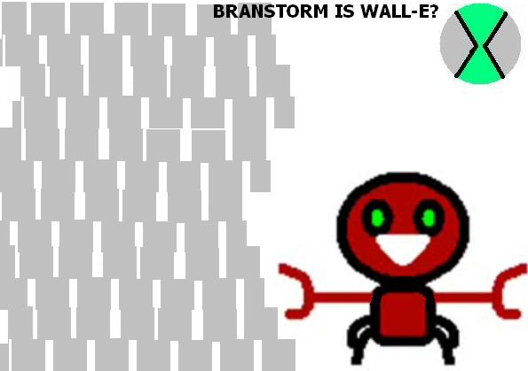 Ben 10 SM:BrainStorm is Wall-E by dailymotion-woo-foo on
