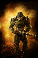 Doom Slayer by FrostedFlakes62