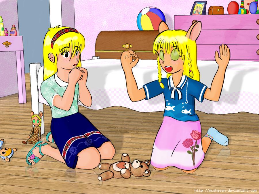 Klara and Maria by mushisan