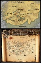 Mapa: Terras Baixas