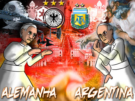 Final: Germany and Argentina