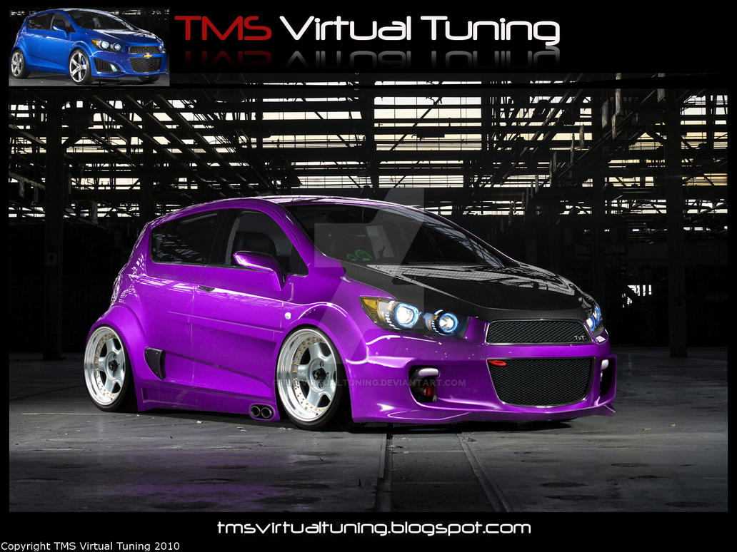 Chevy Aveo RS TVT Style by TMSVirtualTuning