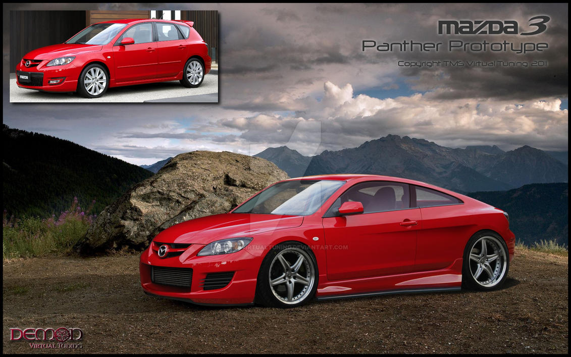 Mazda 3 Panther Prototype By TMSVirtualTuning ...