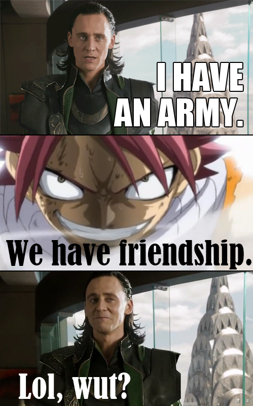 Fairy Tail Funny - Avengers